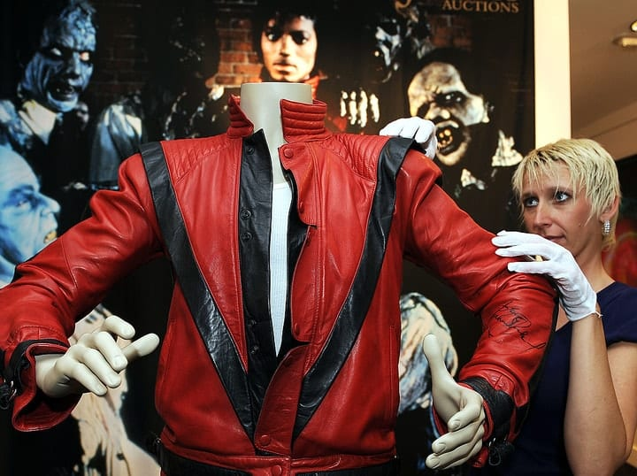 billionaire toys, Thriller jacket
