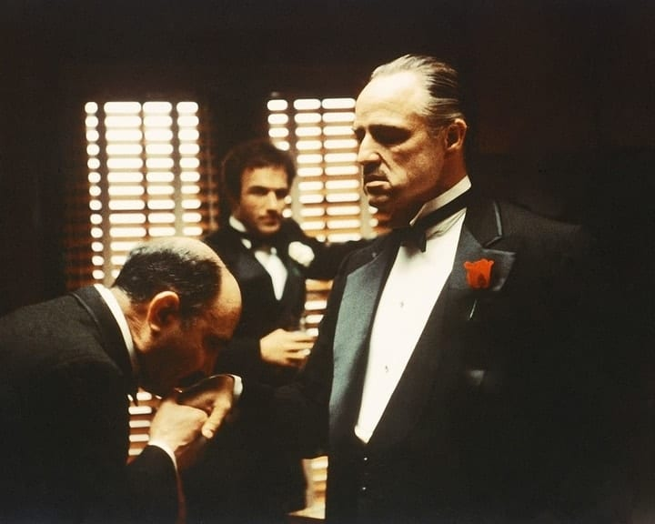 expensive bloopers, The Godfather