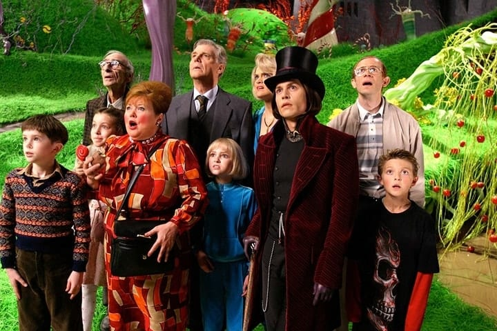 expensive bloopers, Charlie and the Chocolate Factory