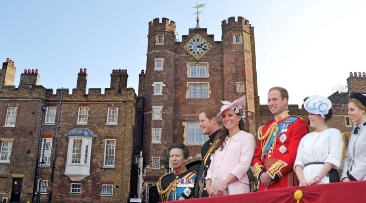 Royal British Family, royal family homes