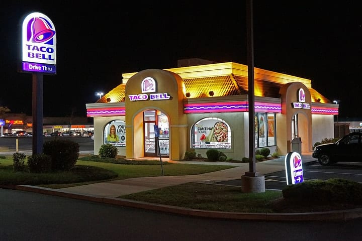 Taco Bell meat, fast food scandals