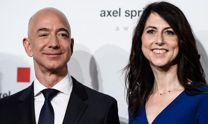 Mackenzie Bezos is giving away the millions she got from her divorce