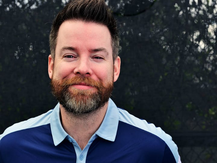 David Cook participates in 2016 Chris Evert/Raymond James Pro-Celebrity Tennis Classic - Media Access at Boca Raton Resort on November 18, 2016 in Boca Raton, Florida.