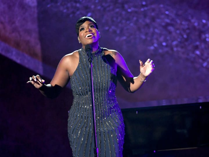 Fantasia Barrino performs onstage at Q85: A Musical Celebration for Quincy Jones at the Microsoft Theatre on September 25, 2018 in Los Angeles, California.