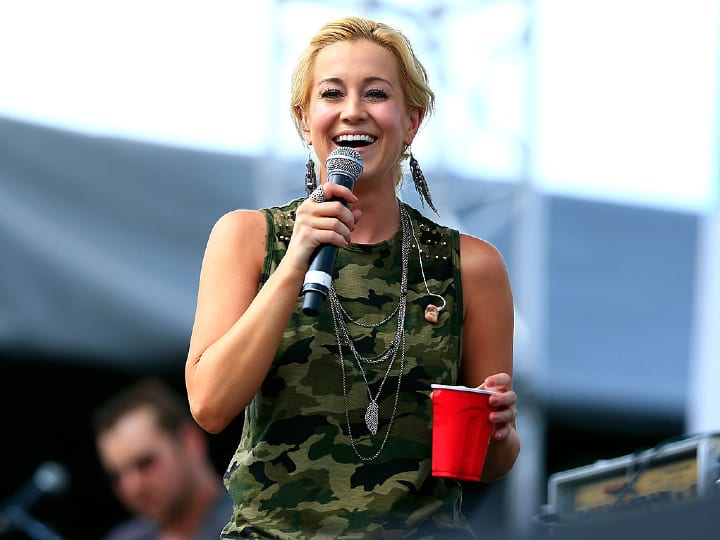 Kellie Pickler performs onstage at the 2014 CMA Festival on June 6, 2014 in Nashville, Tennessee.