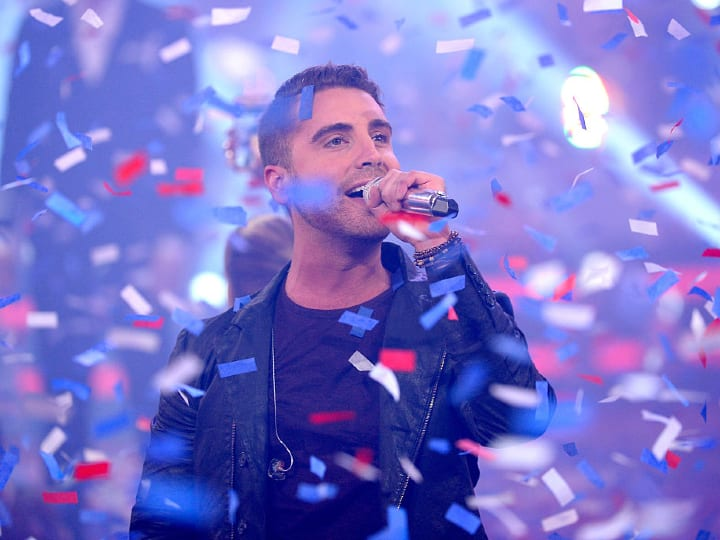 "Winner Nick Fradiani performs onstage during ""American Idol"" XIV Grand Finale at Dolby Theatre on May 13, 2015 in Hollywood, California."