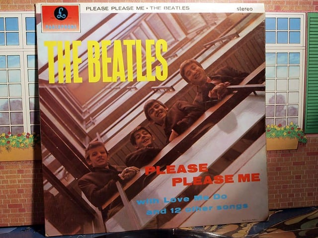 The Beatles, Please Please Me, valuable record, rare