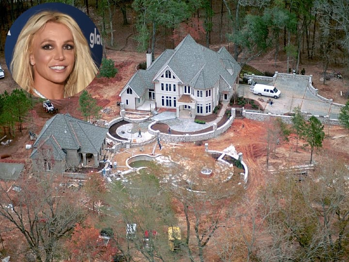 Britney Spears, Louisiana mansion