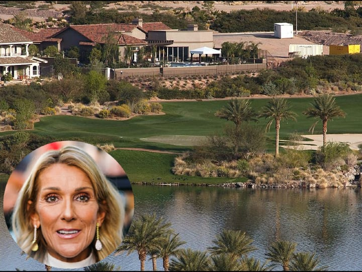 Celine Dion, Las Vegas estate, mansion