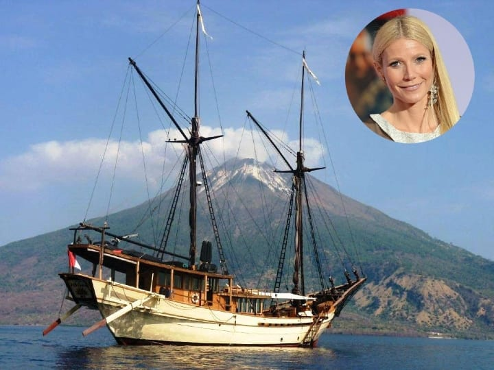 Gwyneth Paltrow, celebrity, fancy yacht