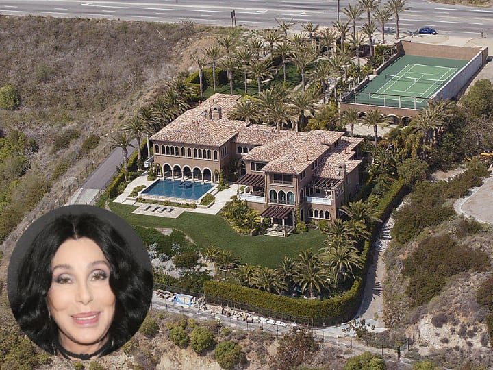 Cher, mansion, expensive homes, Los Angeles