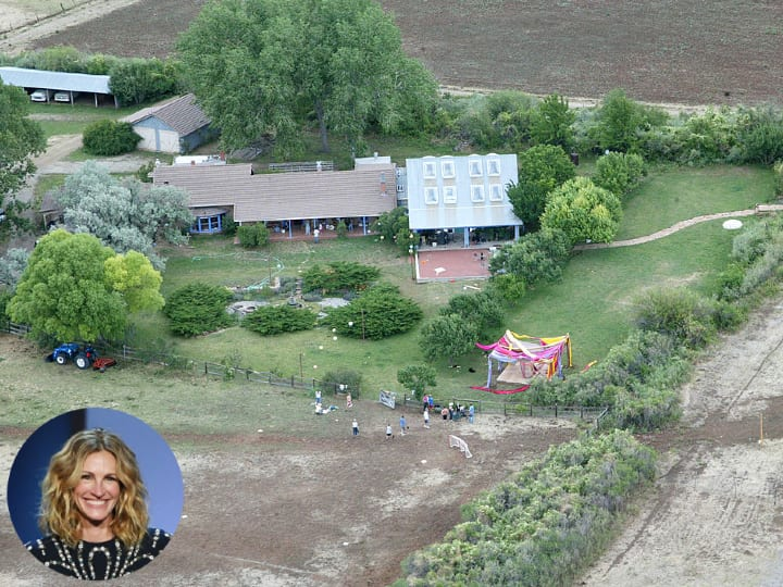 Julia Roberts, New Mexico ranch
