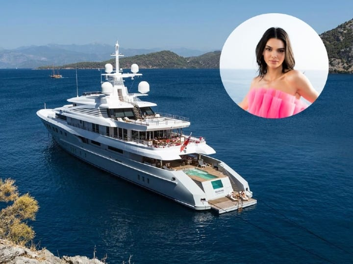 Jenner yacht, fancy yacht, celebrity yacht