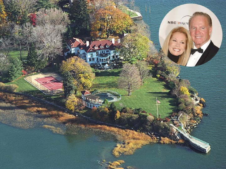 Kathy Lee and Frank Gifford, Connecticut home, mansion
