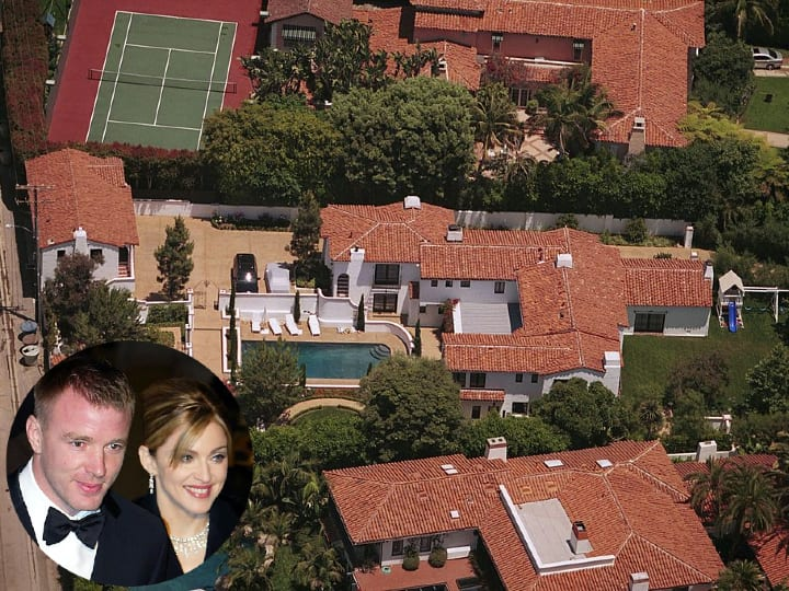 Madonna and Guy Ritchie, mansion, expensive home