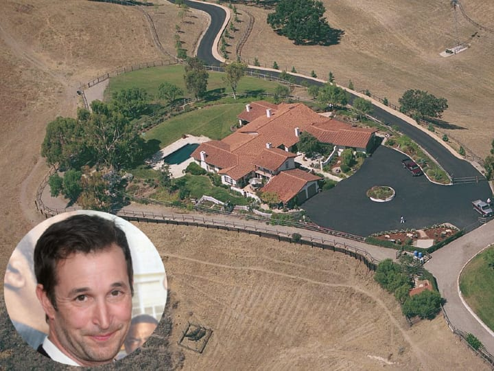 Noah Wyle, Santa Ynez, Ranch home, mansion