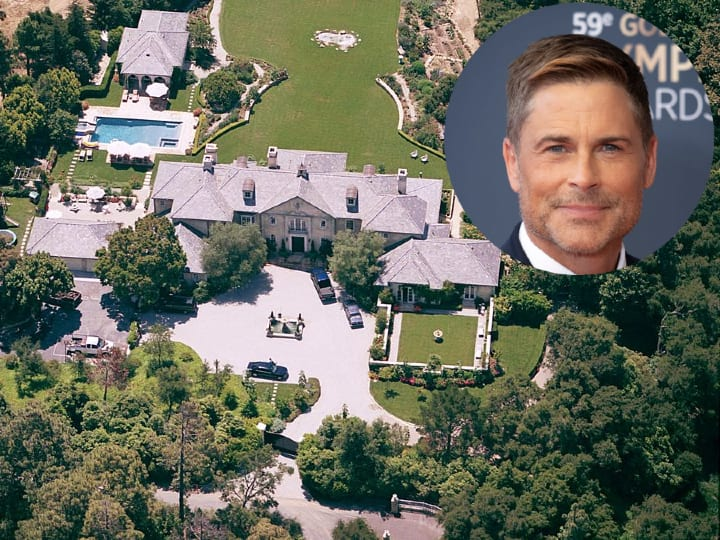 Rob Lowe, luxurious home, mansion