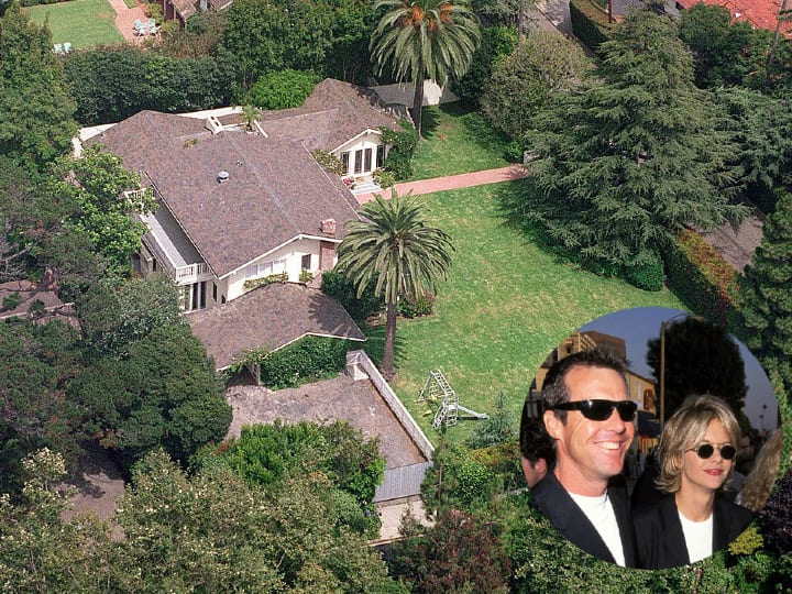 Dennis Quaid, Meg Ryan, mansion, Los Angeles home