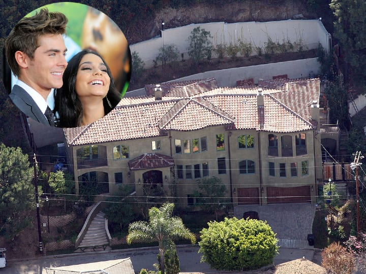 Zac Efron and Vanessa Hudgens, Los Angeles mansion