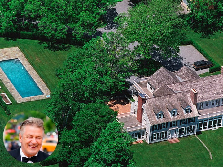 Alec Baldwin, ranch home, Long Island