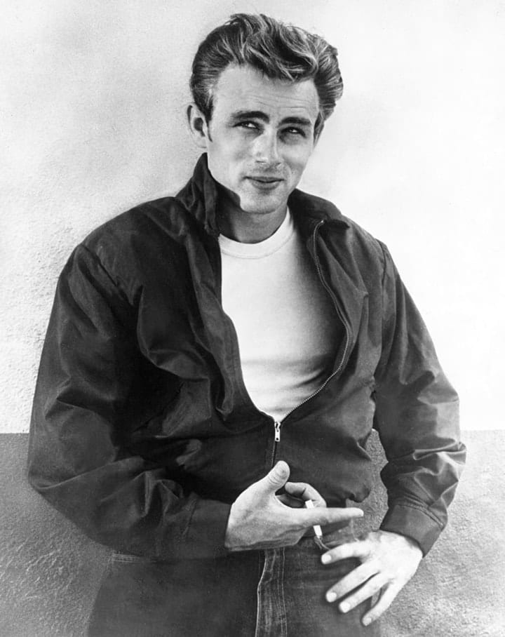 valuable autographs, James Dean
