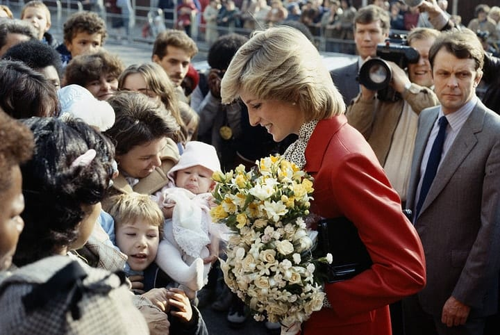 valuable autographs, Diana, Princess of Wales