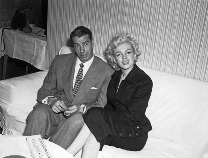 valuable autographs, Joe DiMaggio & Marilyn Monroe
