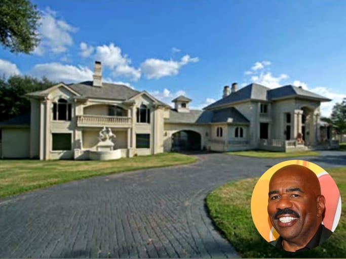 Steve Harvey, mansion, beautiful mansion