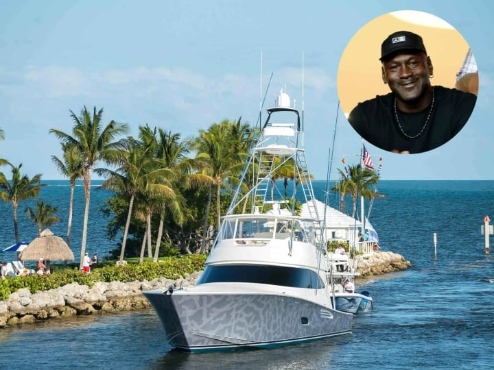 Michael Jordan, super-yacht, celebrity yacht