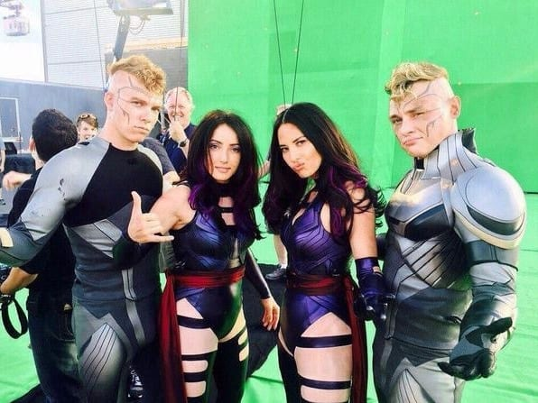 X-Men: Apocalypse, stunt performers, stunt double