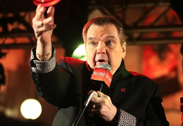 celebrities who filed for bankruptcy, Meat Loaf