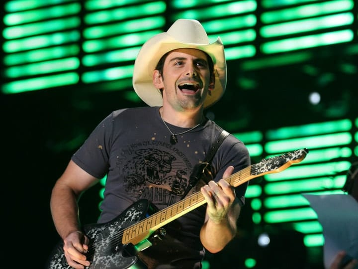 richest country music star, Brad Paisley