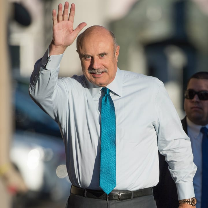 dr-phil, richest TV personalities