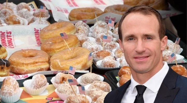 Drew Brees, celebrities that own food chains