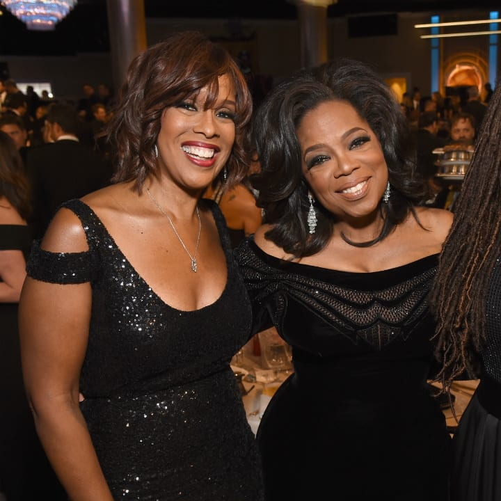 gayle-king-oprah, richest TV personalities