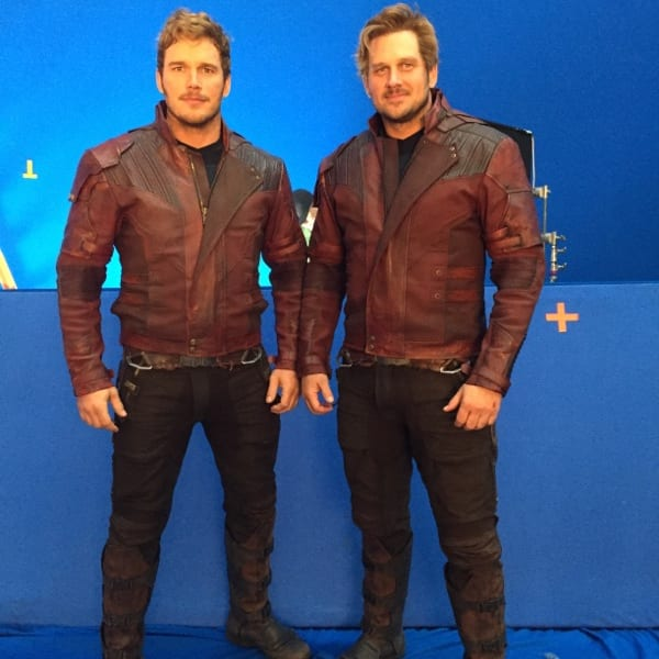 Chris Pratt, Tony McFarr, stunt double