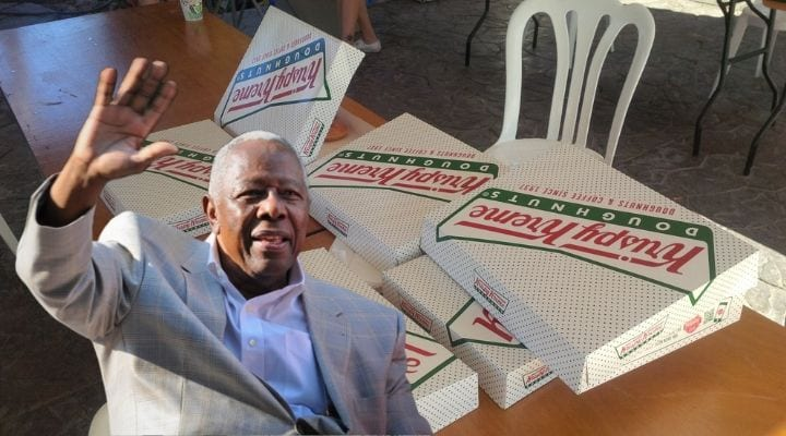 Hank Aaron, celebrities that own food chains