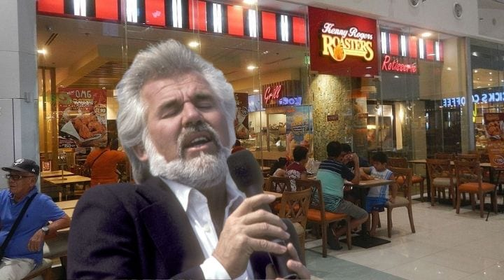 Kenny Rogers, celebrities that owned food chains