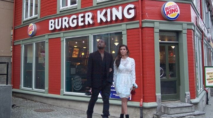 Kim Kardashian, Kanye West, celebrities that own food chains