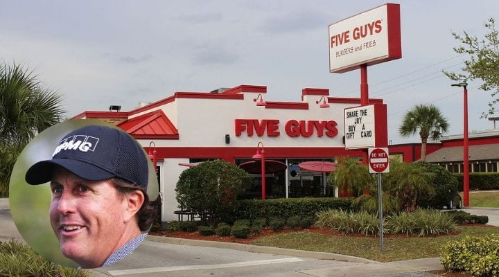 Phil Mickelson, celebrities that own food chains