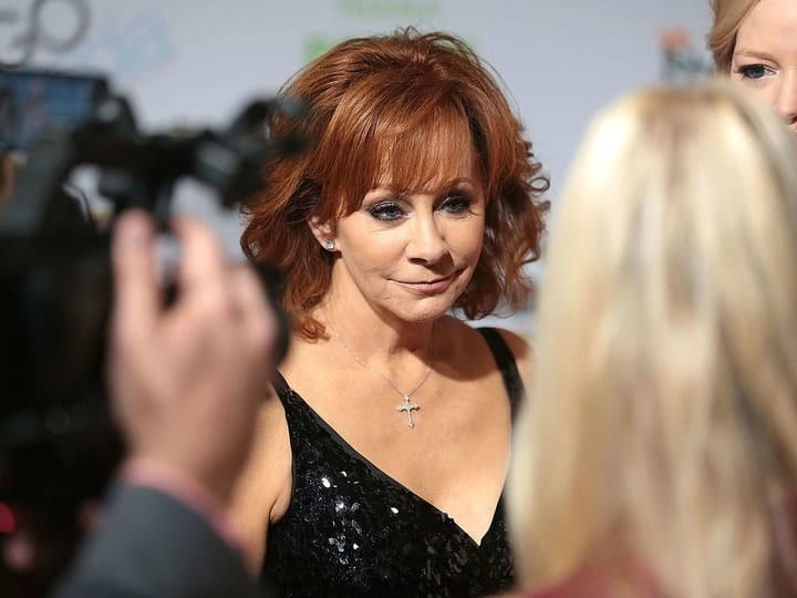 richest country music star, Reba McEntire