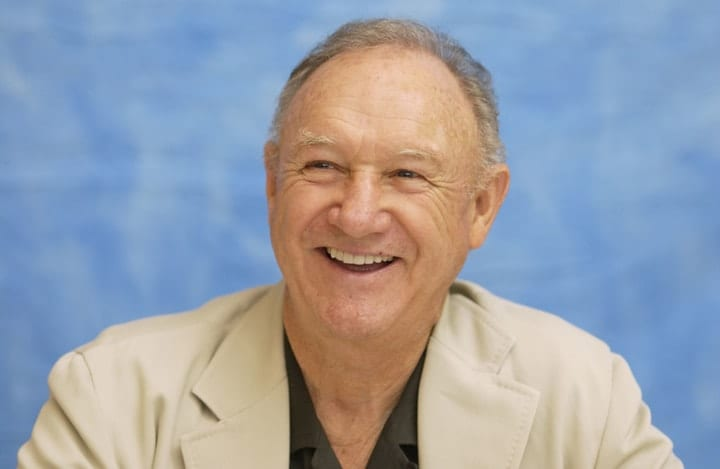 richest retired movie stars, Gene Hackman