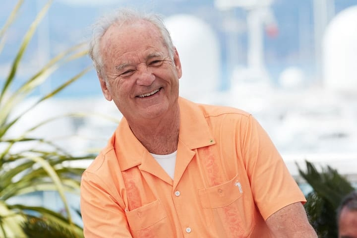 richest retired movie stars, Bill Murray