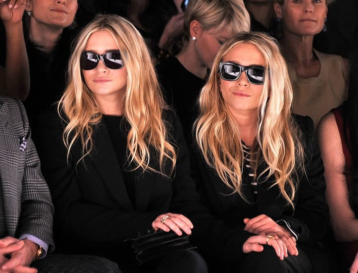 richest retired movie stars, Mary-Kate and Ashley Olsen