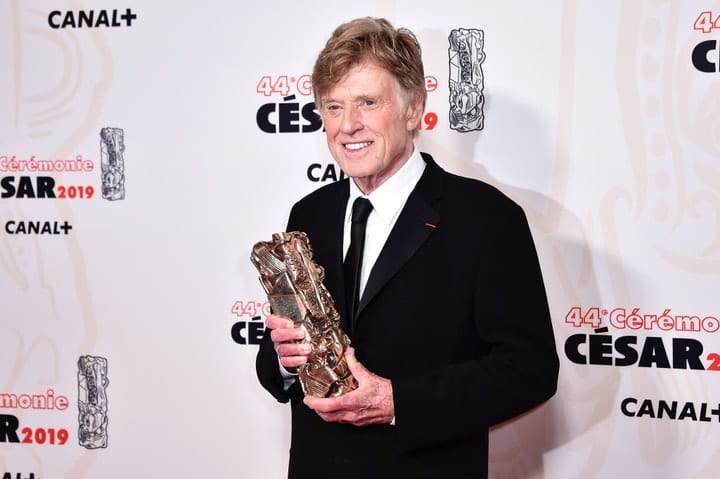 richest retired movie stars, Robert Redford