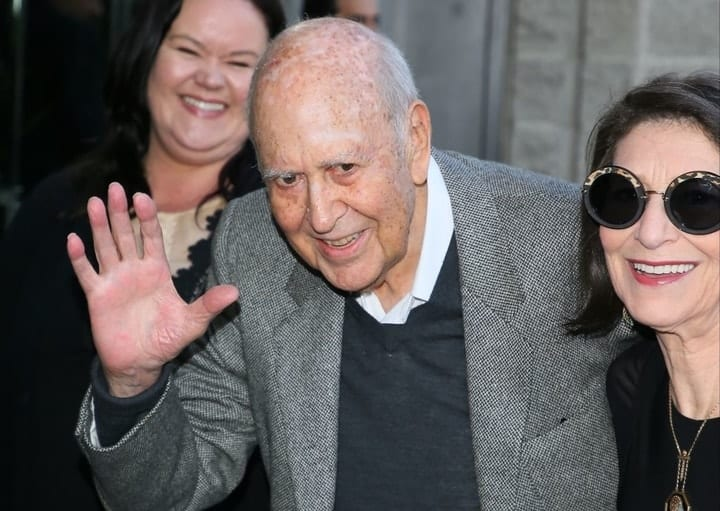 richest retired movie stars, Carl Reiner