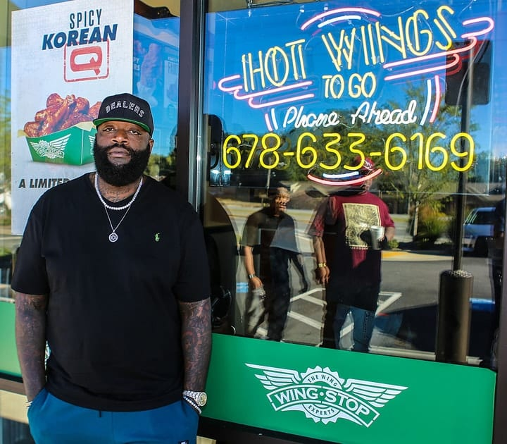 Rick Ross, celebrities that own food chains