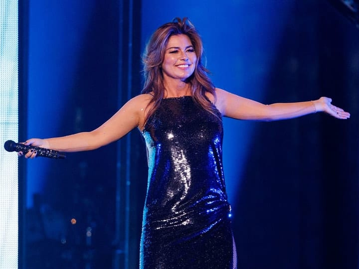 richest country music star, Shania Twain
