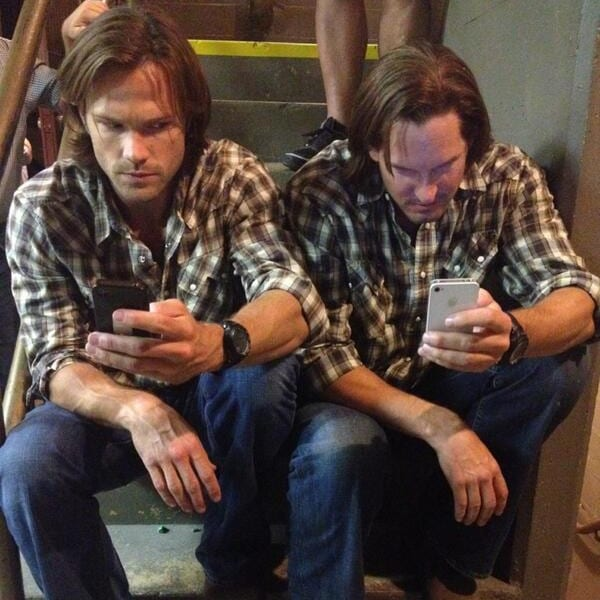 Supernatural, Jared Padalecki, stunt double, action, Mike Carpenter