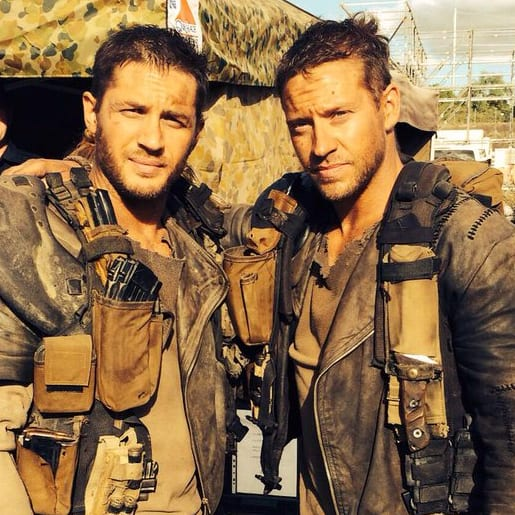 Tom Hardy, Jacob Tomuri, actor, stunt double, Mad Max